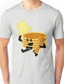 Dancing Pancakes Unisex T-Shirt