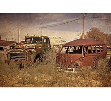 Abandoned Classics  Photographic Print