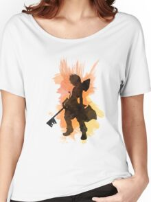 Kingdom Hearts: Watercolor Roxas Women's Relaxed Fit T-Shirt