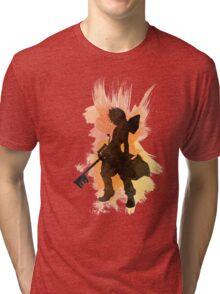 Kingdom Hearts: Watercolor Roxas Tri-blend T-Shirt
