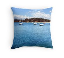 Keels In The Sun Throw Pillow