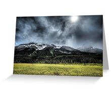 Summer Snowstorm Greeting Card