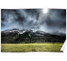 Summer Snowstorm Poster