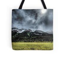 Summer Snowstorm Tote Bag