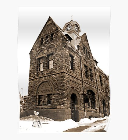 The Old Post Office - Almonte Ontario Poster