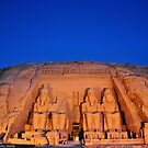 Abu Simbel Temple.. by Michelle McMahon