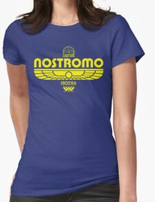 Nostromo. Womens Fitted T-Shirt