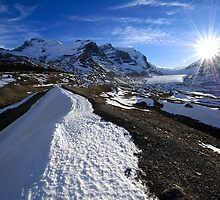 Athabasca Glacier, Alberta by Mike Traynor Photography