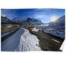 Athabasca Glacier, Alberta Poster
