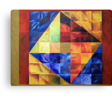 Homage to Pythagoras Canvas Print