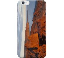 Red Rock at Dusk iPhone Case/Skin