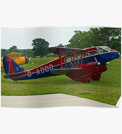 de Havilland DH-89A Dragon Rapide Poster