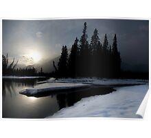 Bow River, Alberta Poster