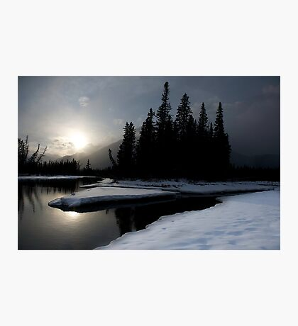 Bow River, Alberta Photographic Print