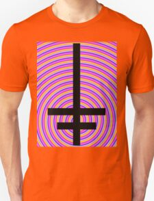 Inverted Psychedelic Cross T-Shirt