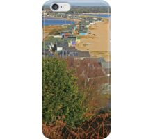 Mudeford Spit, Christmas Day 2014 iPhone Case/Skin
