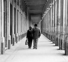 Stroll at the Palais Royale by Cristy Warnock