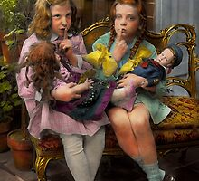 Kid - Our little secret 1915 by Mike  Savad