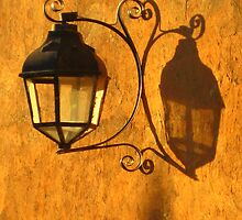 Lamp in Patzcuaro, Mexico by Cristy Warnock