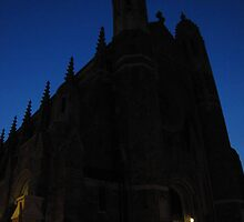 Cathedral at Night by Veronica Schultz