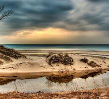 Sunset at Warren Dunes by Paul Zubrys