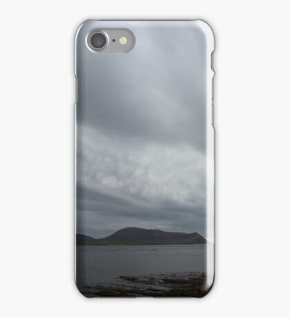Storm clouds over Hoy iPhone Case/Skin