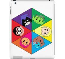 Teen Titans Chibi Hexagon iPad Case/Skin
