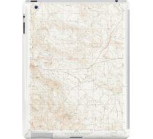 USGS Topo Map Oregon Virtue Flat 281974 1967 24000 iPad Case/Skin