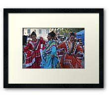 Celebrating Cinco de Mayo..... Framed Print
