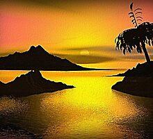 Golden Sunset by Norma Jean Lipert