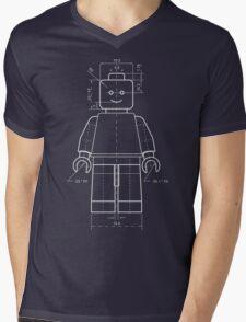 Lego figure Mens V-Neck T-Shirt