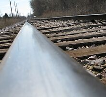 Lonely Rail by ingridthecrafty