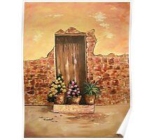 The Door - In Acrylic Poster