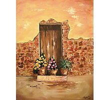 The Door - In Acrylic Photographic Print