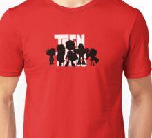 Teen Titans Silhouettes Unisex T-Shirt