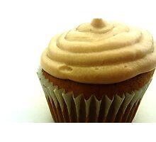 Maple Walnut Cupcake with Maple Butter Frosting Photographic Print