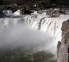 Shoshone Falls - Twin Falls County, ID by Rebel Kreklow