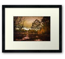 Shades of Fall - Autumn Landscape Framed Print