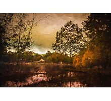 Shades of Fall - Autumn Landscape Photographic Print