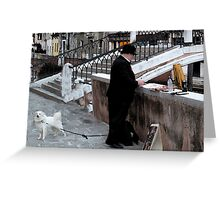 """Plein Aire - Venice"" Greeting Card"