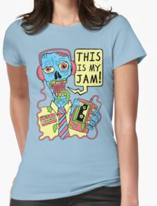 This Is My Jam Womens Fitted T-Shirt