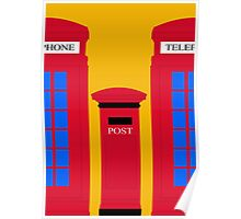 POST & TELEPHONE Poster