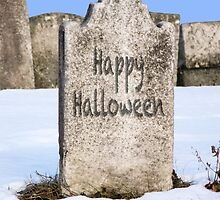 Happy Halloween I by Marianne Campolongo
