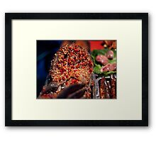 Want spice on your fish:)? Framed Print