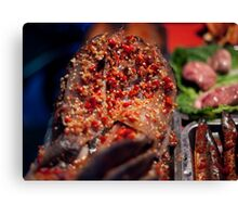 Want spice on your fish:)? Canvas Print