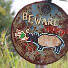 Warning - Hippo by v-something