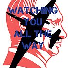 Watching you all the way by #fftw by Tim Constable