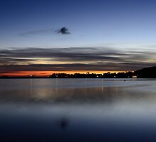 Island of Ruegen: Autumn Sunset by Kasia-D