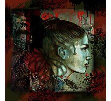 Dark Eden (Graffiti Urban Inspired) Photographic Print