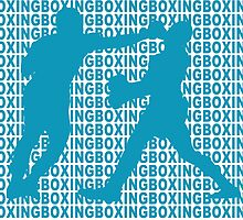 Joe Frazier vs Muhammad Ali Jab Blue by yin888